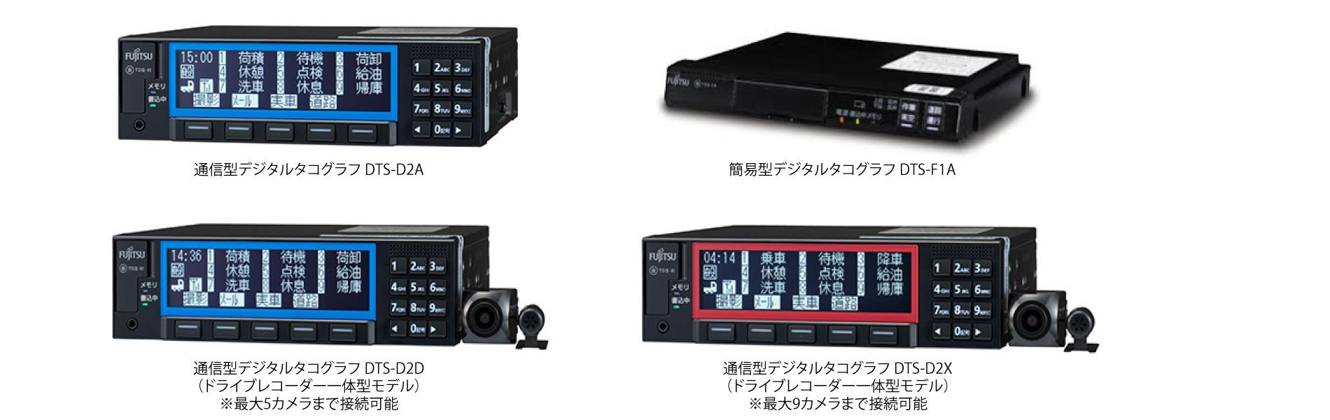 オフィス・タニグチでは富士通のクラウド型デジタルタコグラフを扱っております。